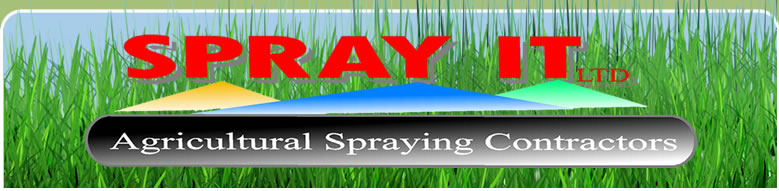 Spray It Agricultural Spraying Contractors Banner